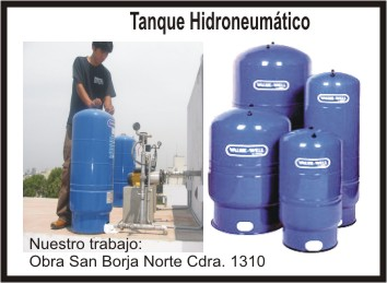 Tanques Hidroneumáticos marca VALUE - WELL AMTROL USA Y ELBI  ITALIA
