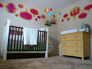elemente decor pentru peretii camerei copilului
