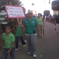 Marcha del Dia Internacional del diabético en Olanchito