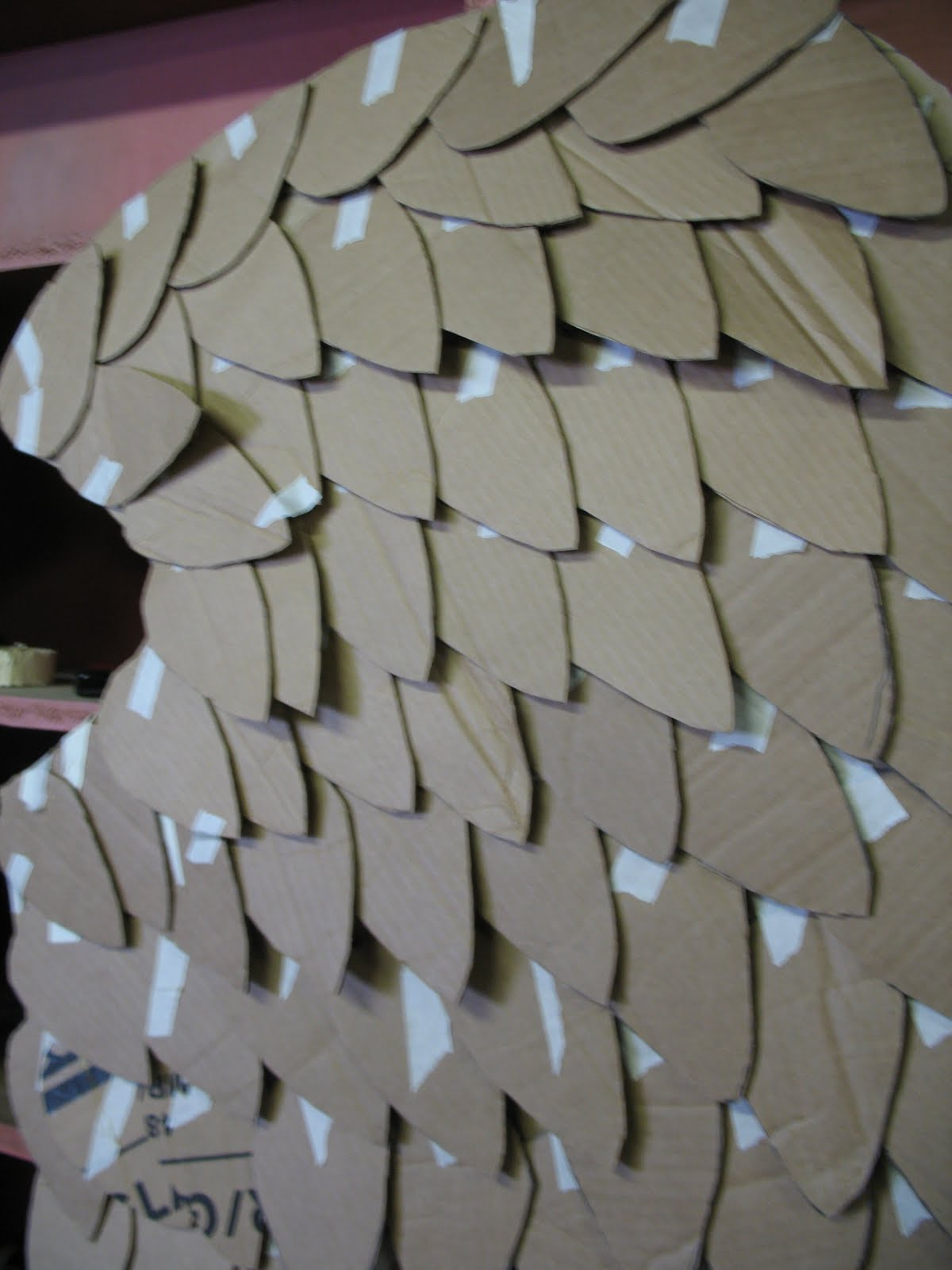how to make pegasus wings out of cardboard