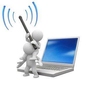 pessoas roubam wireless vizinho