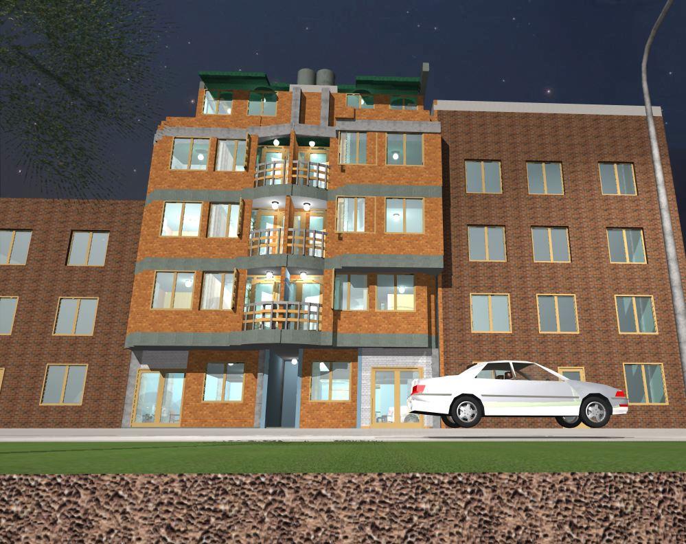 Virtualizacion arquitectura e ingenieria fachada frontal - Arquitectura e ingenieria ...