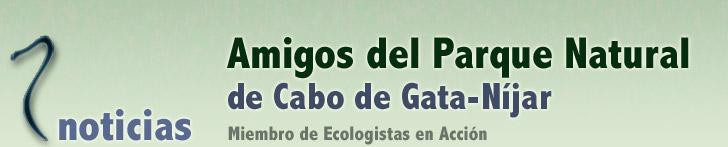 Noticias Amigos del Parque Natural de Cabo de Gata