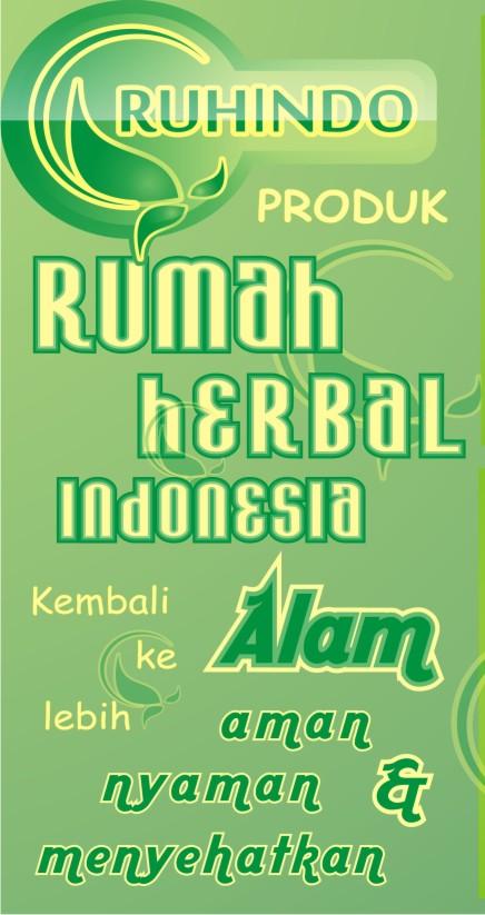 Kami menyediakan berbagai produk herbal dari Ruhindo.