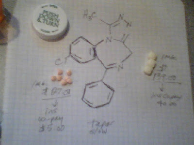 Alprazolam Tables Er 1mg