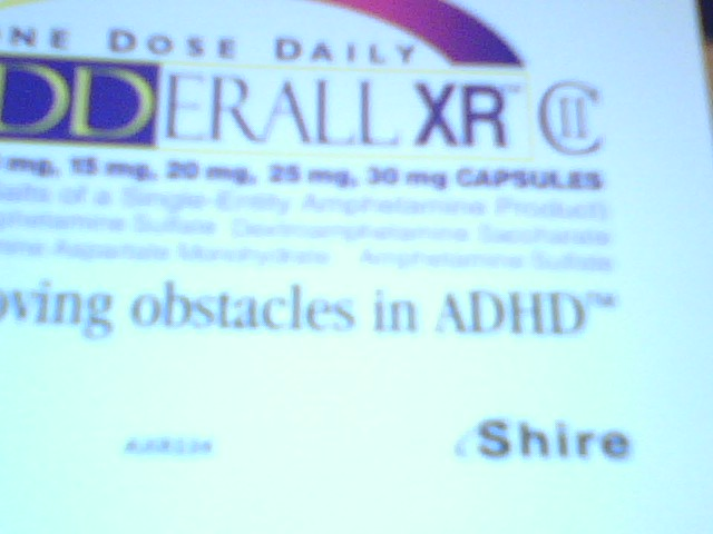 Adderall for atypical face pain