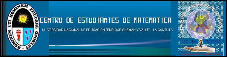 Centro de Estudiantes de Matemática