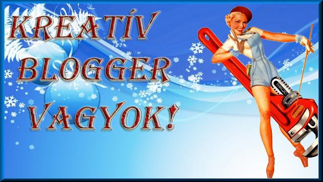 Kreativ blogger vagyok!