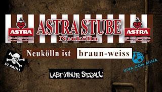Bar para os fãs do St Pauli - Astra Stube Neukölln
