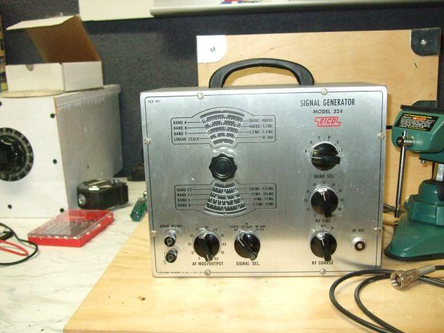 Ac Signal Generator : Ham azing eico signal generator