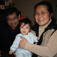 Bella with Lolo & Lola