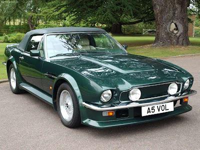 Aston Martin Auto 1986 Aston Martin V8 Vantage Volante