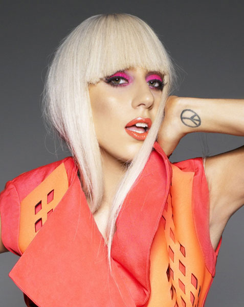 lady gaga style makeup
