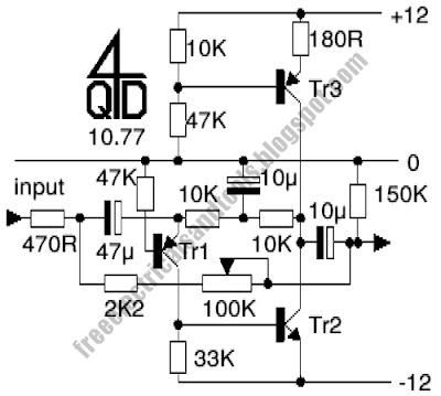 intercom preamp circuit using transistor filling diagram rh fillingdiagram blogspot com Simple One Transistor Amp Transistor Amplifier Circuit