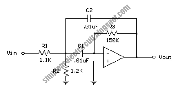 simple project electronic circuit