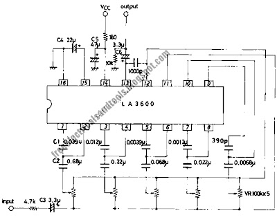5 band graphic equalizer circuit diagram schematic this graphic equalizer circuit is suitable for tape recorders radio cassette recorders car stereos or home theater sound systems cheapraybanclubmaster Gallery