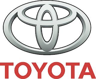 Toyota logo car