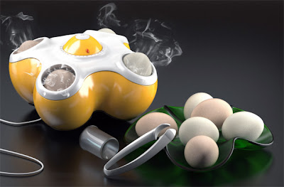 BangBang Egg Steamer will pop your eggs when done
