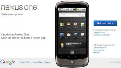 Google Launches Nexus One