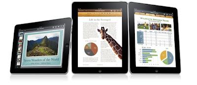 Apple iPad iWork