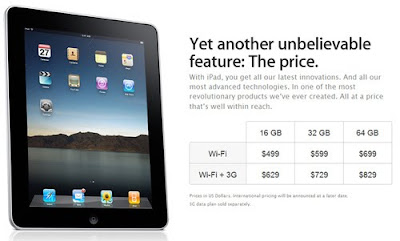 AT&T scores for $30 unlimited data plans on 3G-capable iPad, locked via Micro SIM