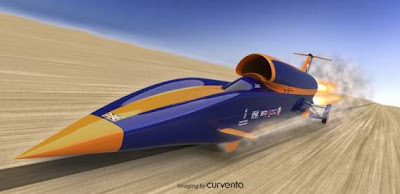 Bloodhound SSC jet car