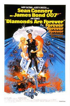 Diamonds are Forever James Bond Movies and Actors
