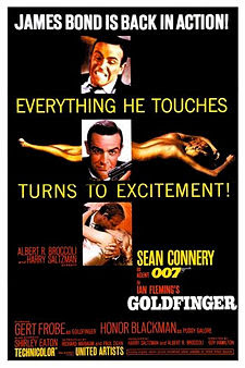 Gold Finger James Bond Movies and Actors