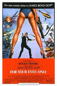 For Your Eyes Only James Bond Movies and Actors