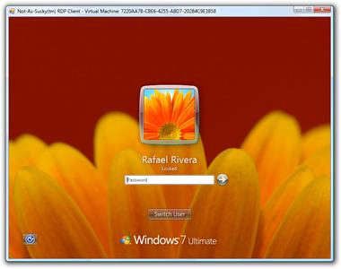 Windows 7 supports UI Log-In Background Customization
