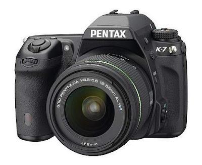 Pentax K-7 DSLR full details