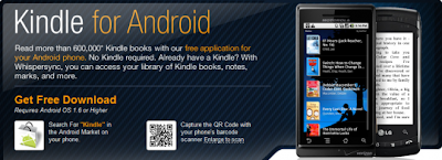 Amazon  Kindle for Android Now Available With iOS4 Kindle App Update