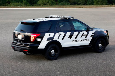 Ford Police Interceptor Utility Vehicle 2011