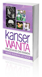 Buku Kanser Wanita: Pencegahan & Rawatan tulisan Dr.Rushdan