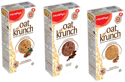Munchy's has recently launched their newest product range, Oat ...