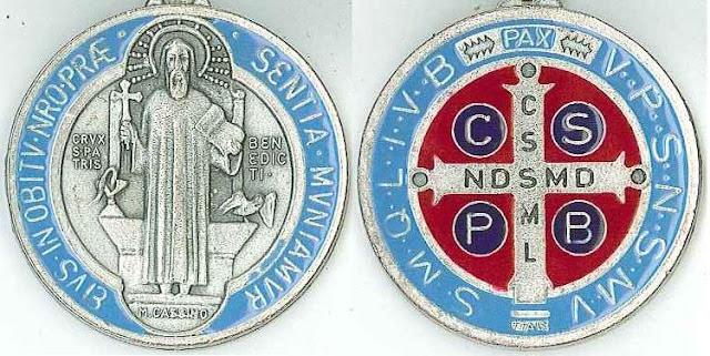 El poder de la medalla de San Benito abad