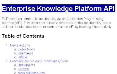 Enterprise Knowledge Platform API