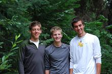 Kyle, Oliver and Braden