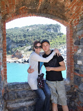 Stephen & I in Tuscany - April 2010