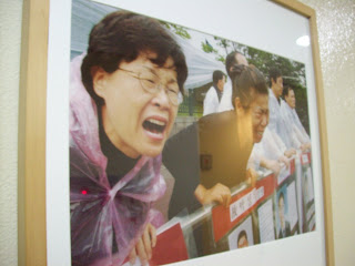 Mourning mothers in Korea