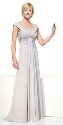 Another Grecian style mother of the bride dress