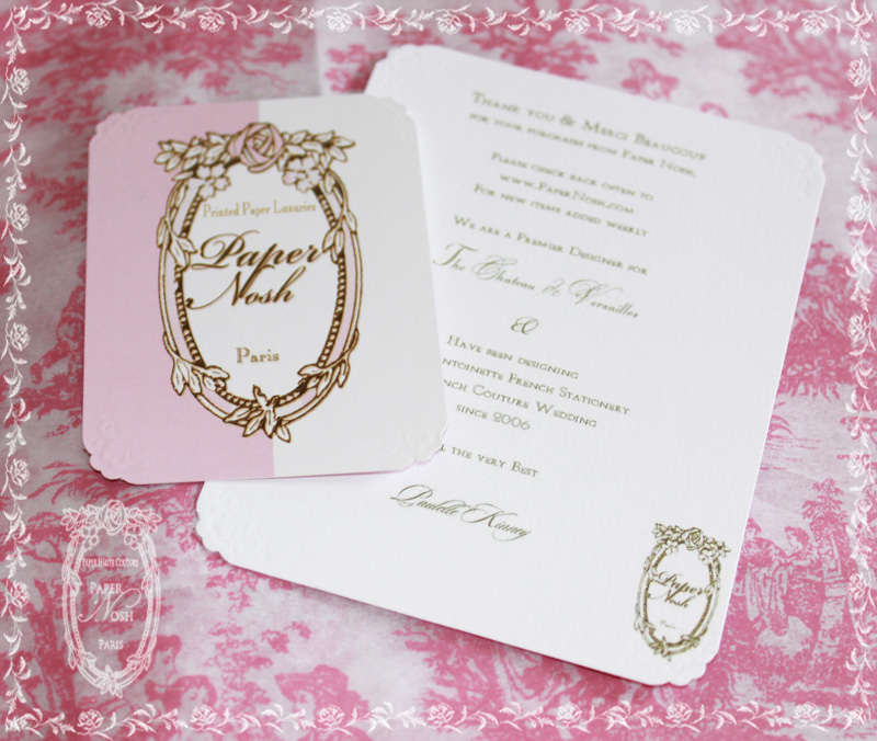 la pink paperie The blog for Paper Nosh: New Marie Antoinette ...