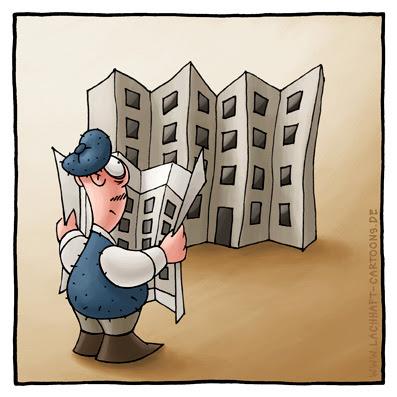 Haus bauen comic  LACHHAFT - Cartoons von Michael Mantel - Wöchentlich neue Witze im ...