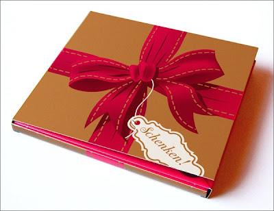 MAYBEBOP Weihnachts CD Schenken Illustrationen und Artwork von Michael Mantel