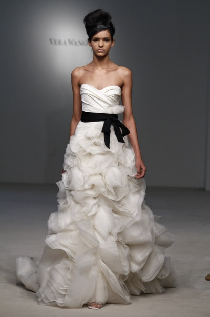 The Cinderella Project Because Every Girl Deserves A Happily Ever After Vera Wang Fall 2011 Collection