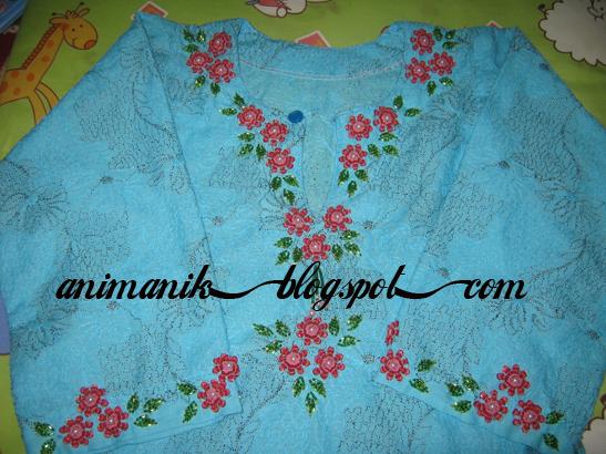 Baju kurung moden kod 003