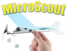 rc airplane kits-mocroscout