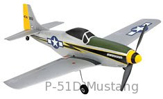 p-51d mustang rc airplanes