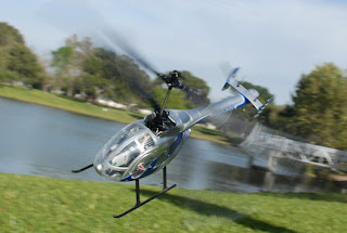 EXEED RC WARHAWK 300 POLICE BLUE RC HELICOPTER FLY IMAGES