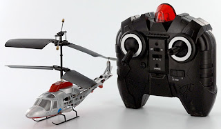 Indoor Dolphin Silver Version RC Helicopter Images